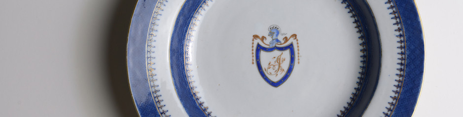 Thomas Jefferson Chinese Porcelain Plate
