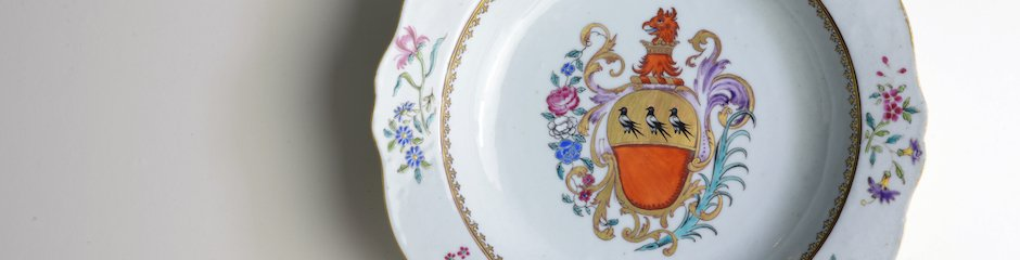 Lovelace Chinese Porcelain Plate