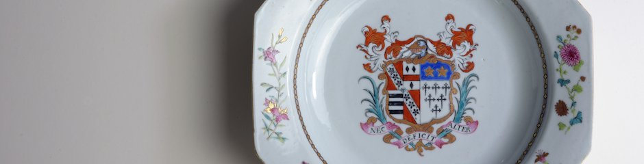 Roddam Chinese Porcelain Plate